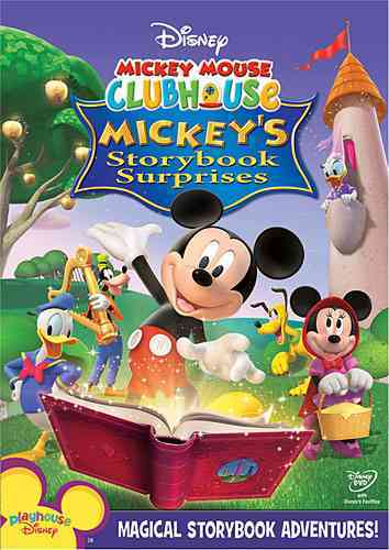 MICKEY MOUSE CLUBHOUSE:MICKEY'S STORY BY MICKEY MOUSE CLUBHOU (DVD)